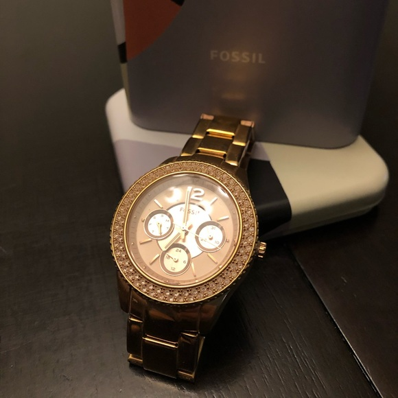 Fossil Accessories - Fossil Watch, Rosegold